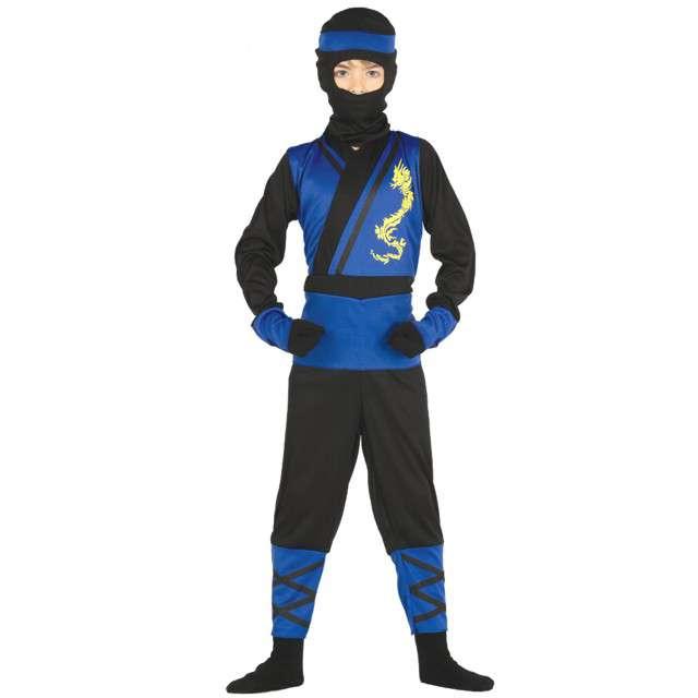 """Strój dla dzieci """"Niebieski Ninja"""", GUIRCA, rozm. 7-9 lat"""