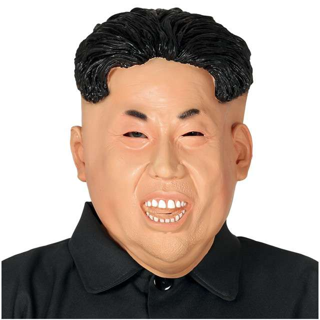 """Maska """"Kim Dzong Un"""", lateksowa, GUIRCA"""