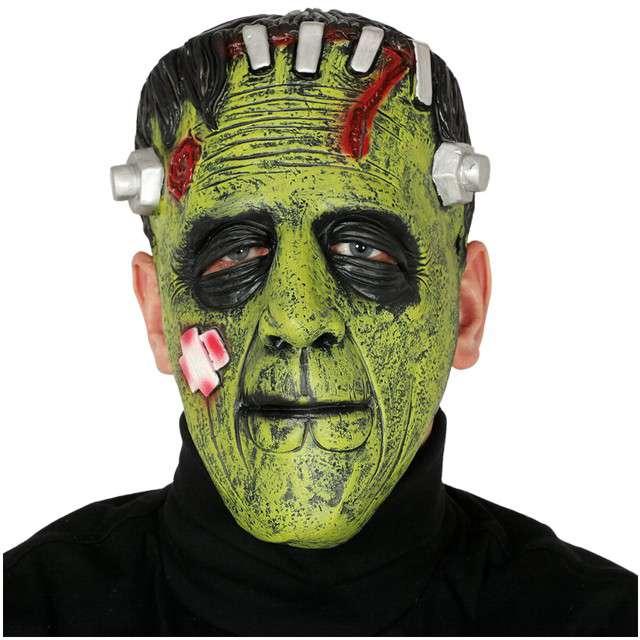 """Maska """"Frankenstein"""", lateksowa, GUIRCA"""
