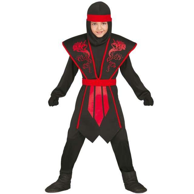 """Strój dla dzieci """"Ninja Cienia"""", GUIRCA, rozm. 7-9 lat"""