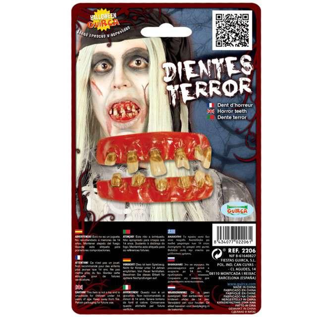 """Sztuczne zęby """"Zombie"""", GUIRCA"""