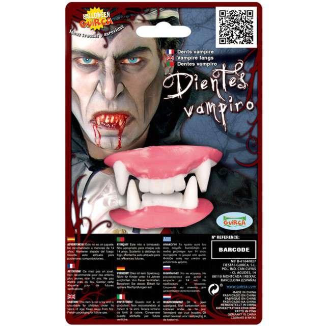 """Sztuczne zęby """"Wampir Drakula - termoplastyczne"""", GUIRCA"""