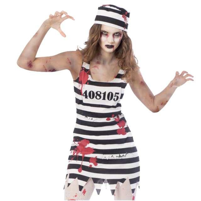 """Strój dla dorosłych """"Kobieta Więzień Zombie"""", AMSCAN, rozm. S"""