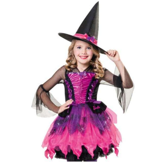 """Strój dla dzieci """"Czarownica Barbie"""", AMSCAN, rozm. 3-5 lat"""