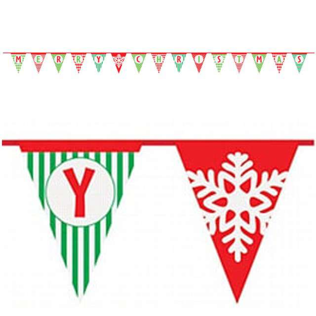 "Baner flagi ""Merry Christmas"", UNIQUE, 420 cm"