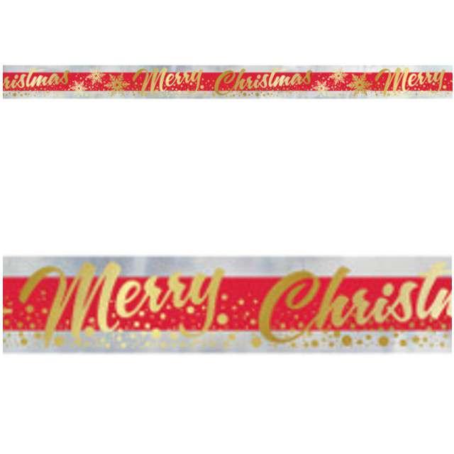 "Baner taśma ""Merry Christmas"", UNIQUE, 365 cm"