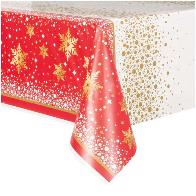 "Obrus foliowy ""Merry Christmas"", UNIQUE, 213 x 137 cm"