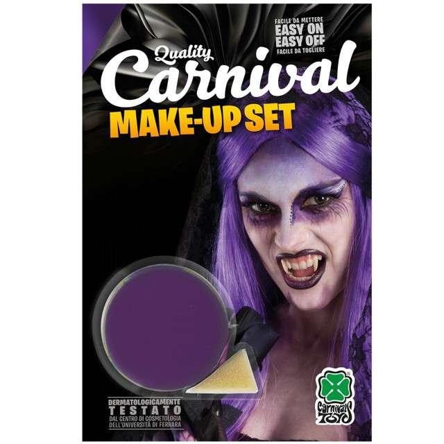 """Make-up party """"Farba do makijażu z gąbeczką"""", fioletowa, Carnival Toys, 10 g"""