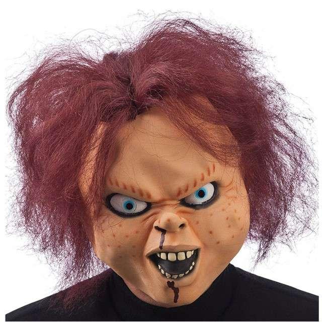 "Maska ""Lalka Chucky"", lateksowa, Carnival Toys"