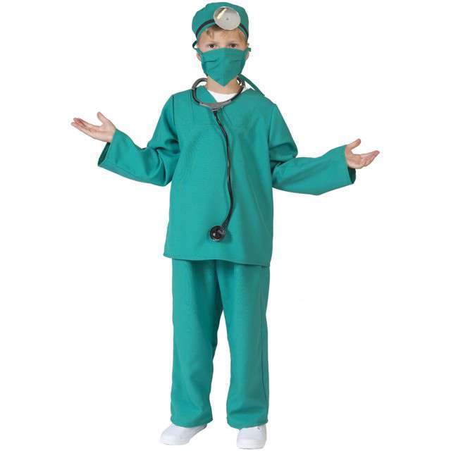 """Strój dla dzieci """"Lekarz Chirurg"""", FunnyFashion, rozm. 140 cm"""