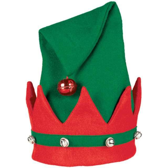 """Czapka """"Elf z dzwoneczkami"""", AMSCAN"""