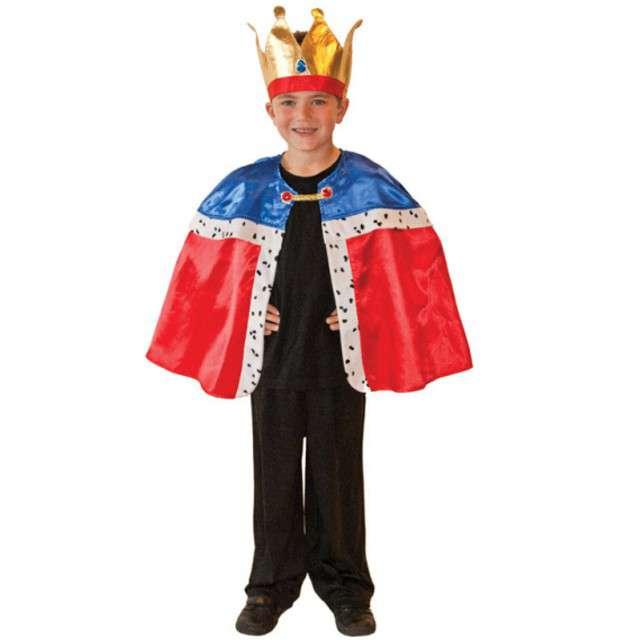 """Strój dla dzieci """"Peleryna Króla"""", AMSCAN, rozm. 3-7 lat"""