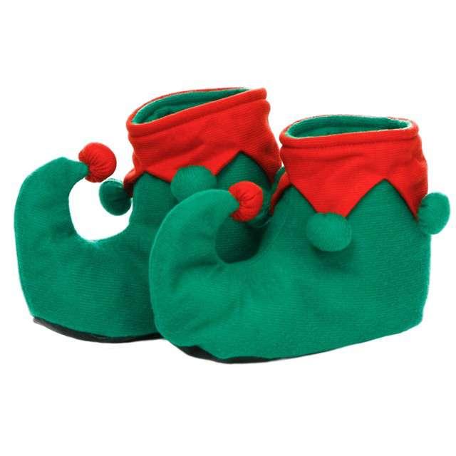 Nakładki na buty Elfa z pomponikami, KRASZEK
