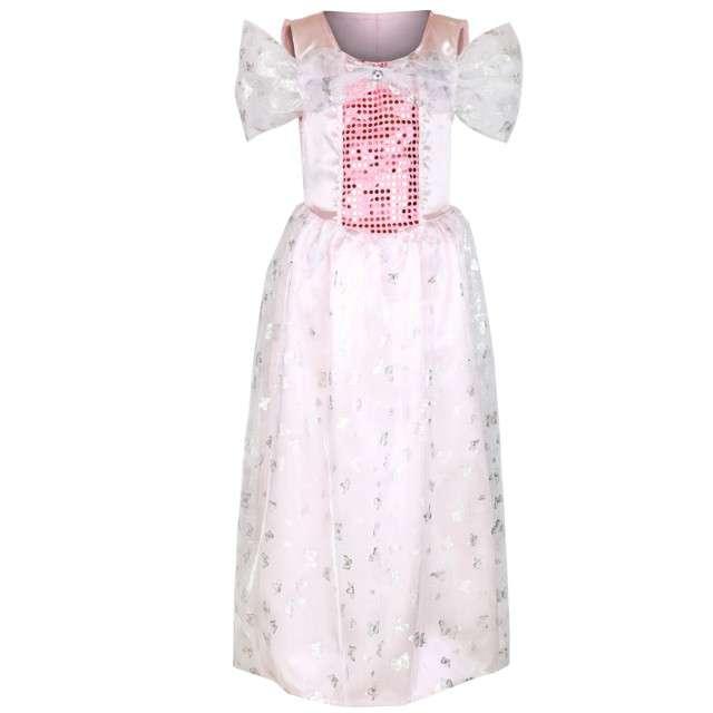 """Strój dla dzieci """"Sukienka Księżniczki"""", różowa, KRASZEK, rozm. 130/140"""