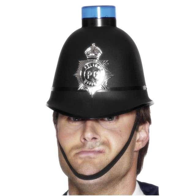 """Czapka """"Policjant z syreną"""", świecący, SMIFFYS"""