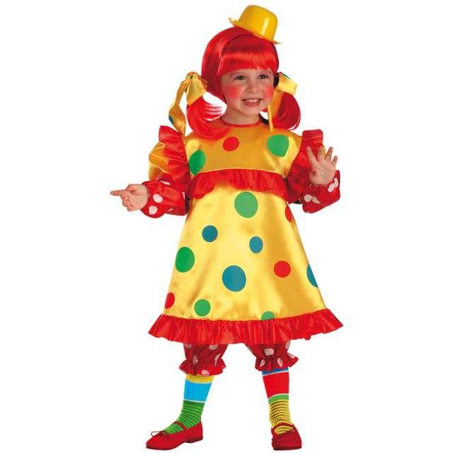 """Strój dla dzieci """"Mała Klauninka"""", Carnival Toys, rozm. 1-2 lata"""