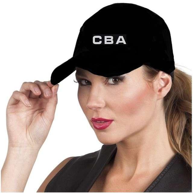 """Czapka """"Policjant CBA"""", czarna, KRASZEK"""