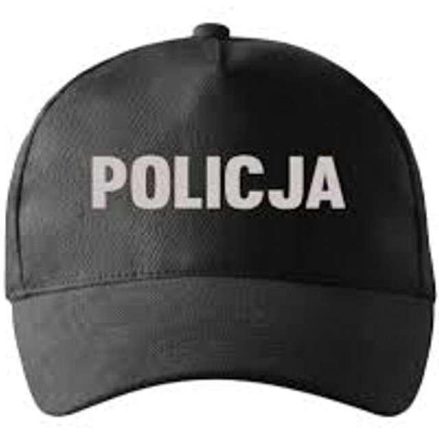 """Czapka """"Policja"""", czarna, KRASZEK"""