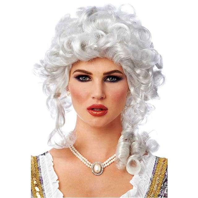 "Peruka party ""Barokowa dama"", blond, KRASZEK"