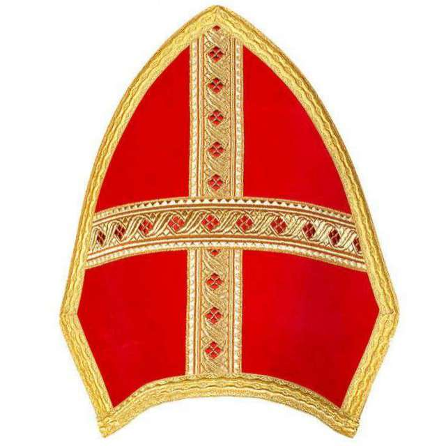 """Czapka """"Biskup - Mitra"""", KRASZEK"""