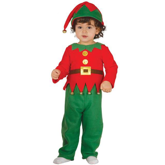 """Strój dla dzieci """"Mały Elf"""", GUIRCA, rozm. 12-18 m-cy"""