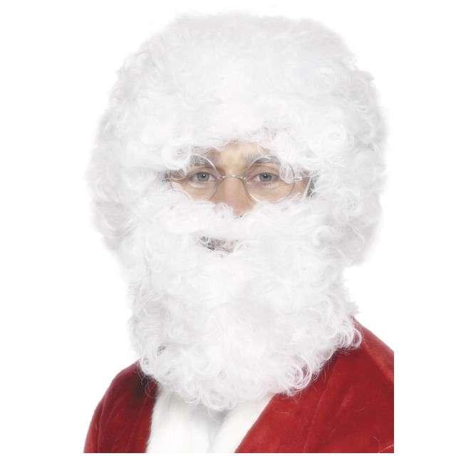 """Peruka party """"Święty Mikołaj z brodą"""", SMIFFYS"""