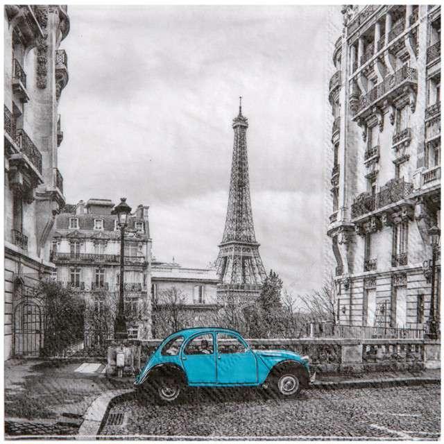 """Serwetki """"Paryż"""", Santex, 33 cm, 20 szt"""