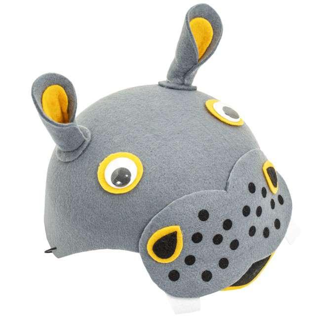 """Czapka """"Hipopotam Hipcio"""", filcowa, KRASZEK"""