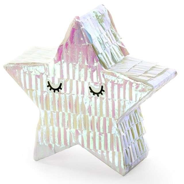 Dekoracja mini piniata Gwiazdka PartyDeco rozm. 105x95cm