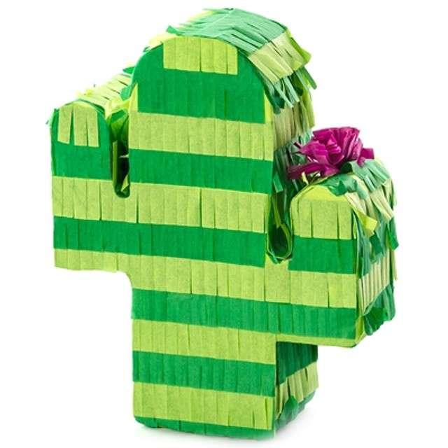 """Dekoracja mini piniata """"Kaktus"""", PartyDeco, rozm. 11,5x6 cm"""