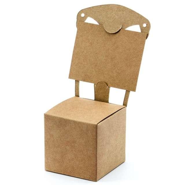 """Pudełeczka dla gości """"Krzesełko Winietka"""", PartyDeco, 10 szt"""