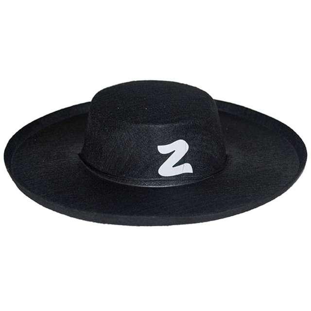 "Kapelusz ""Zorro"", czarny, AMSCAN"