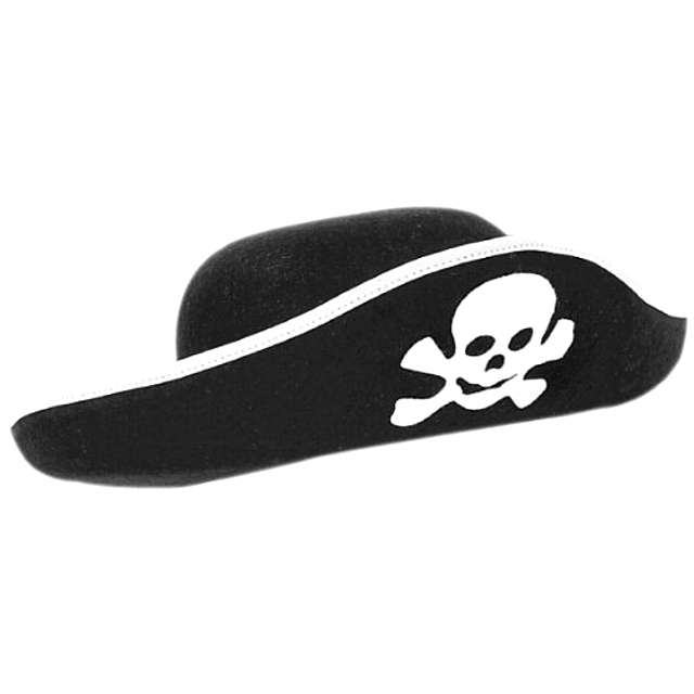 """Kapelusz """"Pirat"""", czarny, AMSCAN"""