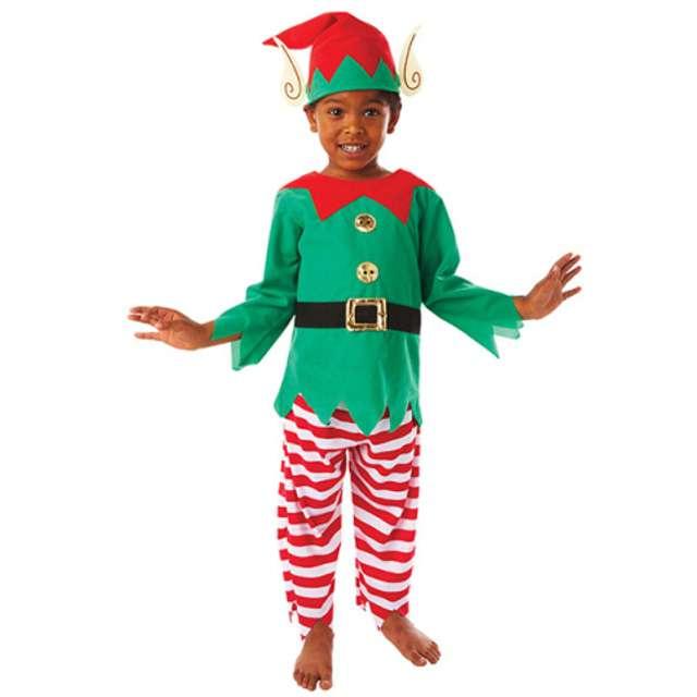 """Strój dla dzieci """"Pomocny Elf"""", AMSCAN, rozm. 3-5 lat"""