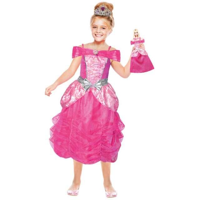 """Strój dla dzieci """"Barbie Księżniczka"""", AMSCAN, rozm. 3-5 lat"""