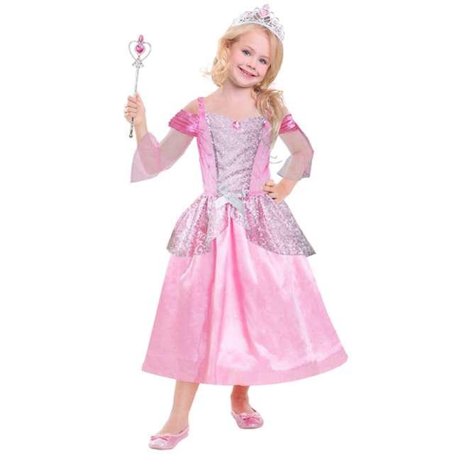 """Strój dla dzieci """"Księżniczka"""", AMSCAN, rozm. 3-6 lat"""