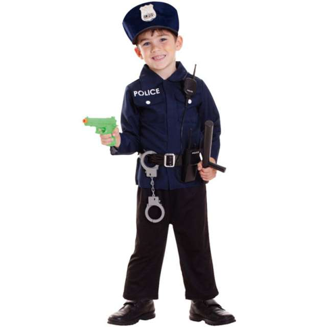 """Strój dla dzieci """"Policjant"""", AMSCAN, rozm. 3-6 lat"""