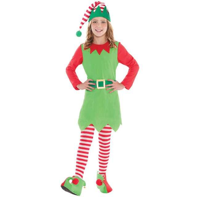 """Strój dla dzieci """"Świąteczna Elfka"""", AMSCAN, rozm. 12-14 lat"""