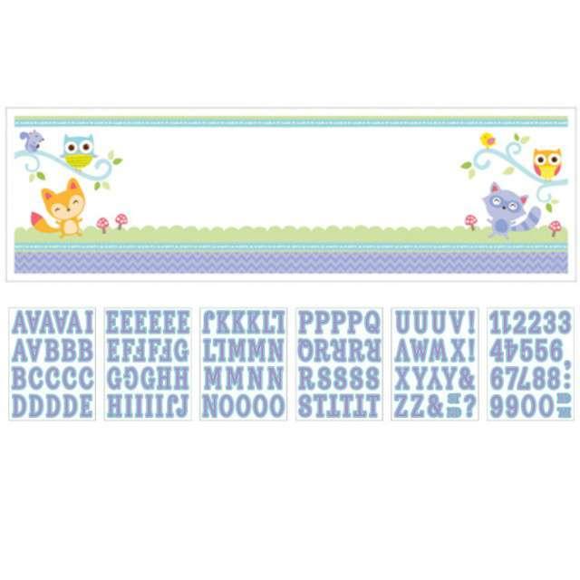 "Dekoracja foliowa ""Welcome Home Baby"", AMSCAN, 165x50 cm"