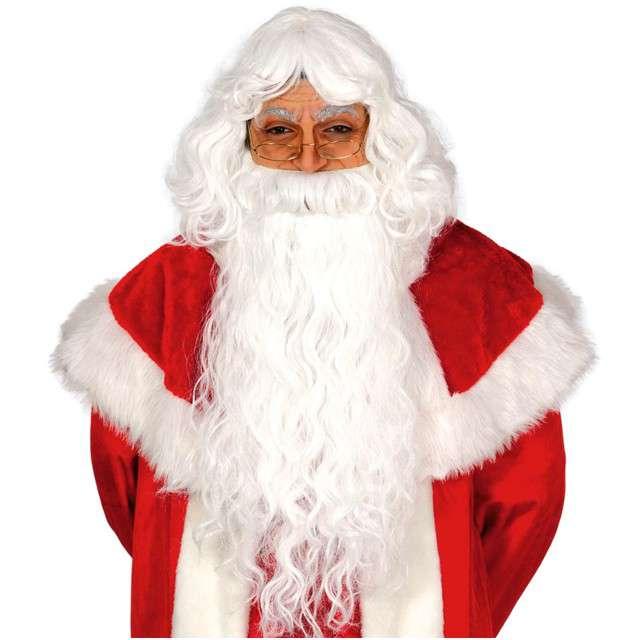 """Peruka party """"Święty Mikołaj z brodą"""", GUIRCA"""