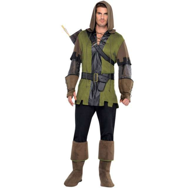 "Strój dla dorosłych ""Robin Hood"", AMSCAN, rozm. M/L"