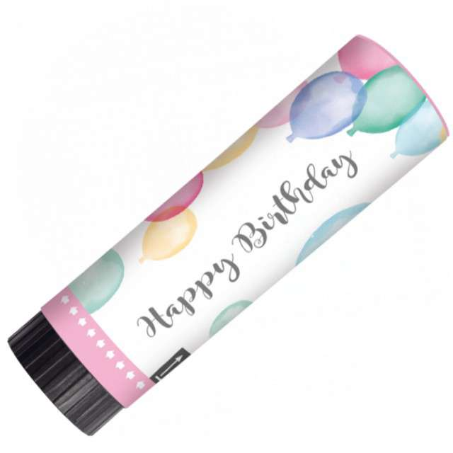 _xx_2 Party Popper Happy Birthday Pastel