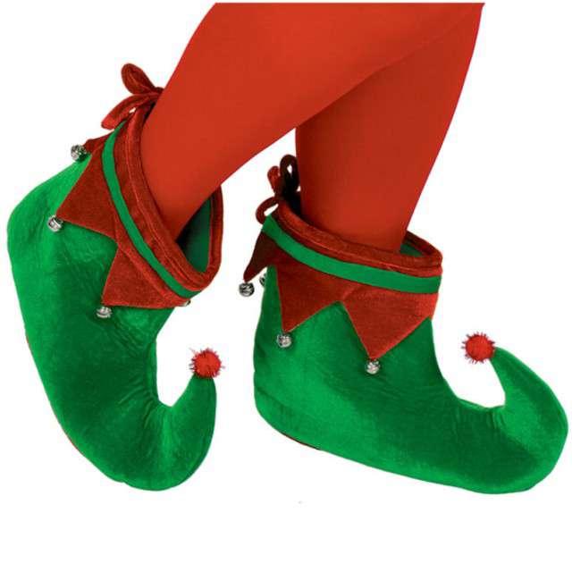 Nakładki na buty Elfa, zielone, AMSCAN