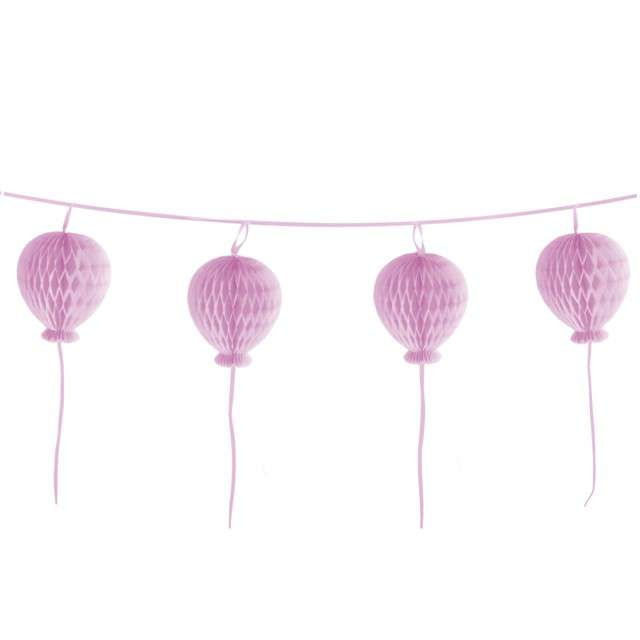 _xx_Honeycomb Ball Garland Happy Birthday Pastel