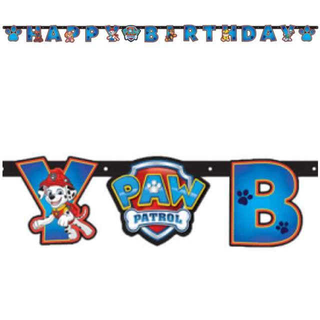 "Baner ""Paw Patrol - Happy Birthday"", AMSCAN, 240 cm"