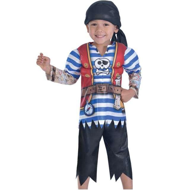 """Strój dla dzieci """"Pirat Jack"""", AMSCAN, rozm. 3-4 lata"""