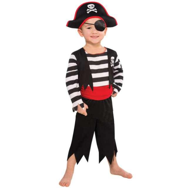 """Strój dla dzieci """"Pirat Majtek"""", AMSCAN, rozm. 3-4 lata"""