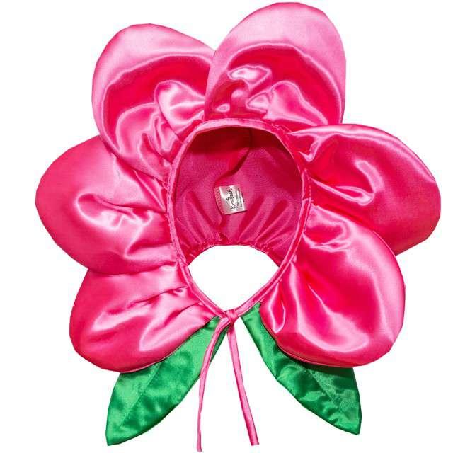 """Czapka """"Kwiatek"""", różowy jasny, KRASZEK"""