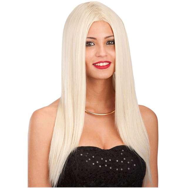 """Peruka party """"Długie Włosy"""", blond, Carnival Toys"""