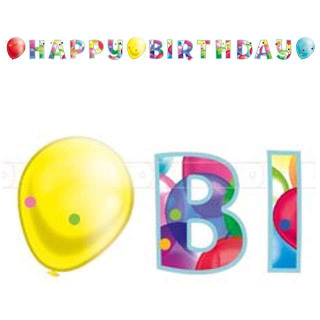 "Baner ""Balloons"", AMSCAN, 176 cm"